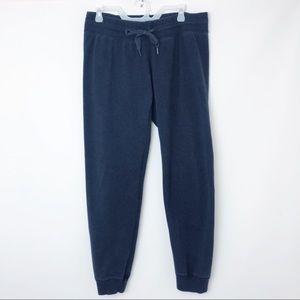 LULULEMON | Navy Jogger Sweatpants Back Zipper 12